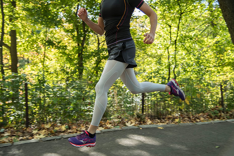 CW-X Womens Endurance Run Shorts