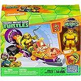 Mega Construx Teenage Mutant Ninja Turtles Half-Shell Heroes Mikey's Jet Cruiser
