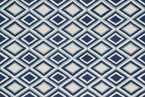Loloi WESTON Area Rug, 5 -0 x 7 -6 , Ivory Blue