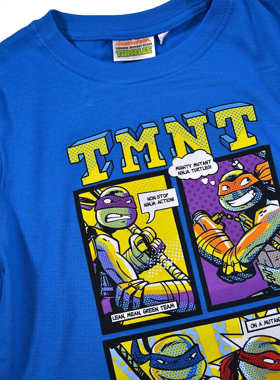 Nickelodeon - Pijama dos piezas - Manga Larga - para niño azul azul 4 años: Amazon.es: Ropa y accesorios