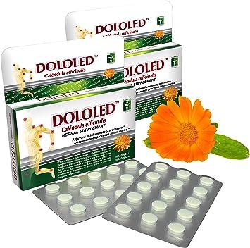 Amazon.com: DOLOLED Caléndula Officinalis 2 Pack (30 ...