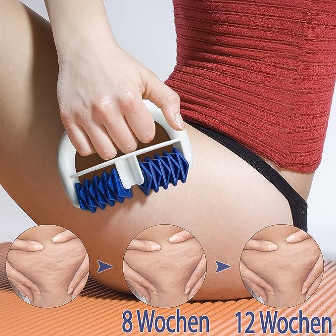14 opinioni per Lunata® Rullo massaggiatore Anti Cellulite, Spazzola per Massaggi per Combattere