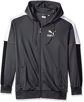 6db38ea5eda34 Puma Men's Retro Full Zip Hoodie: Amazon.in: Clothing & Accessories