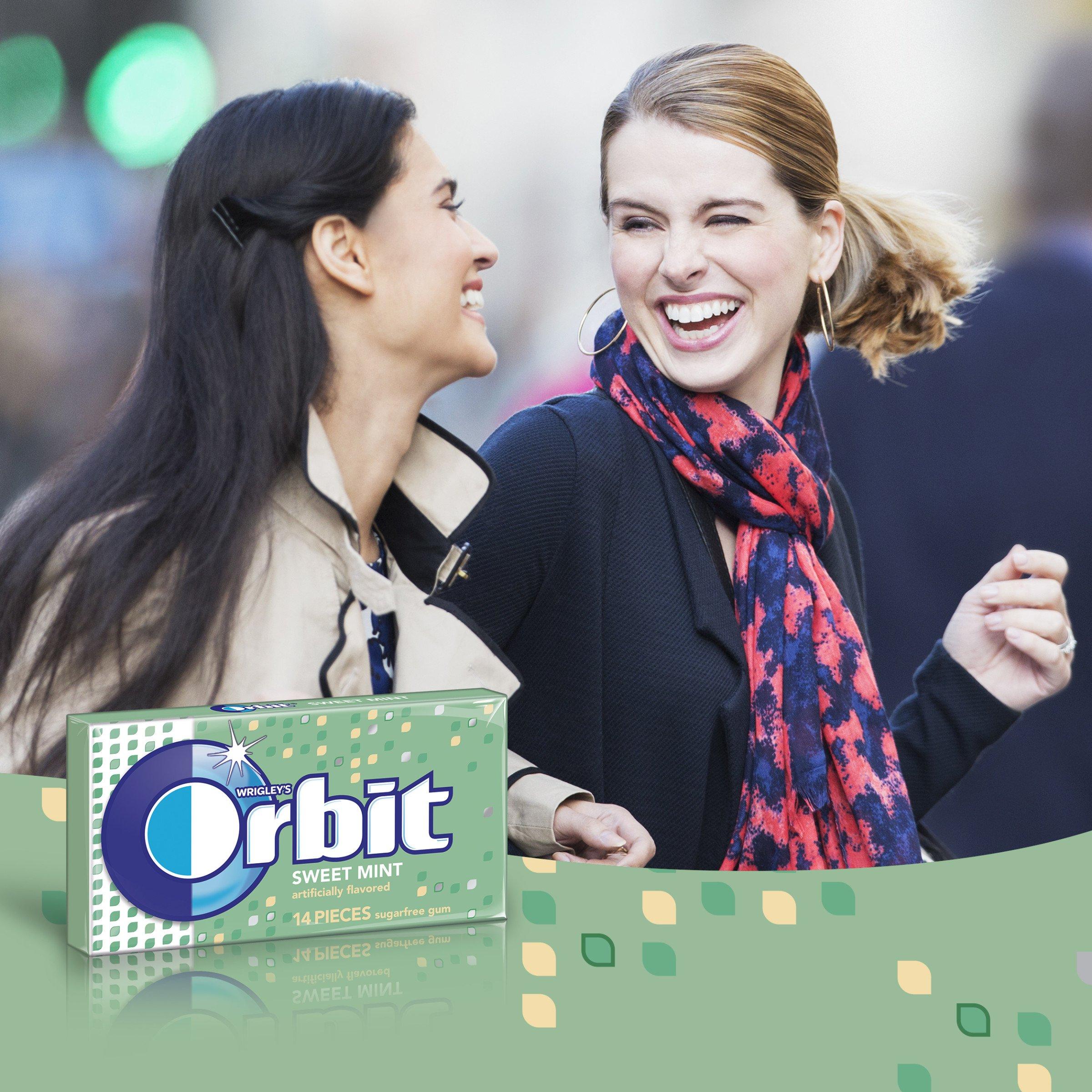 Orbit Sweet Mint Sugarfree Gum, 8 Count (Pack of 6) by Orbit Gum (Image #6)