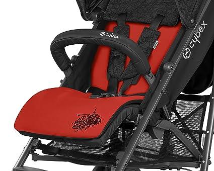 Cybex 515403001 - Colchoneta para silla de paseo, color rojo