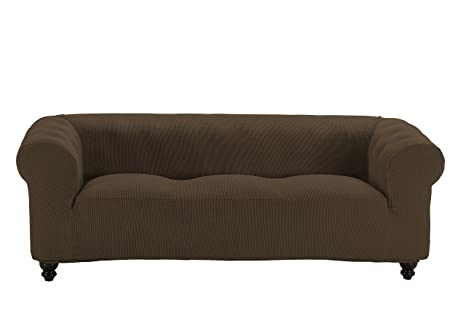 Martina Home Funda Multiélastica para sofá Chester modelo Chipre , Tela, 3 Plazas - color Marrón