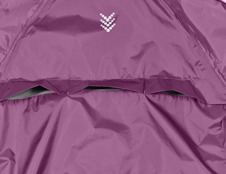 Ultralight and Packable Running Rain Jacket Little Donkey Andy Women/'s Waterproof Cycling Bike Jacket Windbreaker