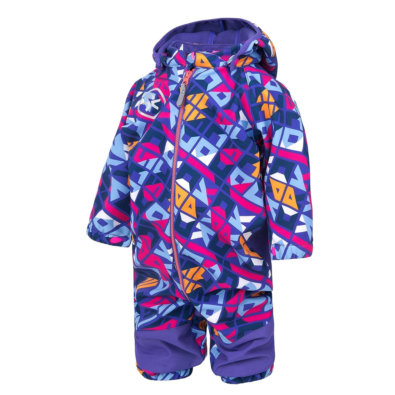 Color Kids.Ski-Anzug, 103127-4132, Scandia Softshell Overall, Liberty
