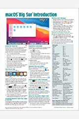 macOS Big Sur Introduction Quick Reference Guide (Cheat Sheet of Instructions, Tips & Shortcuts - Laminated Guide) Pamphlet