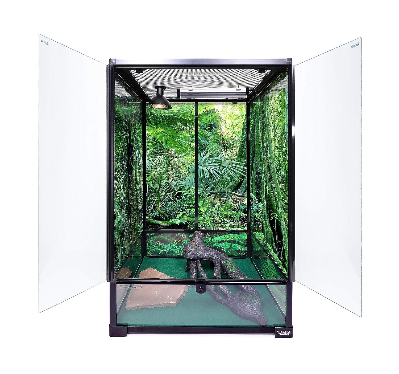 Carolina Custom Cages Terrarium, extralástago Mediano, 24 x 18 x ...
