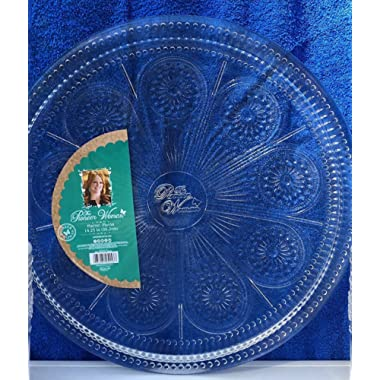 The Pioneer Woman Adeline-Clear Serving Platter