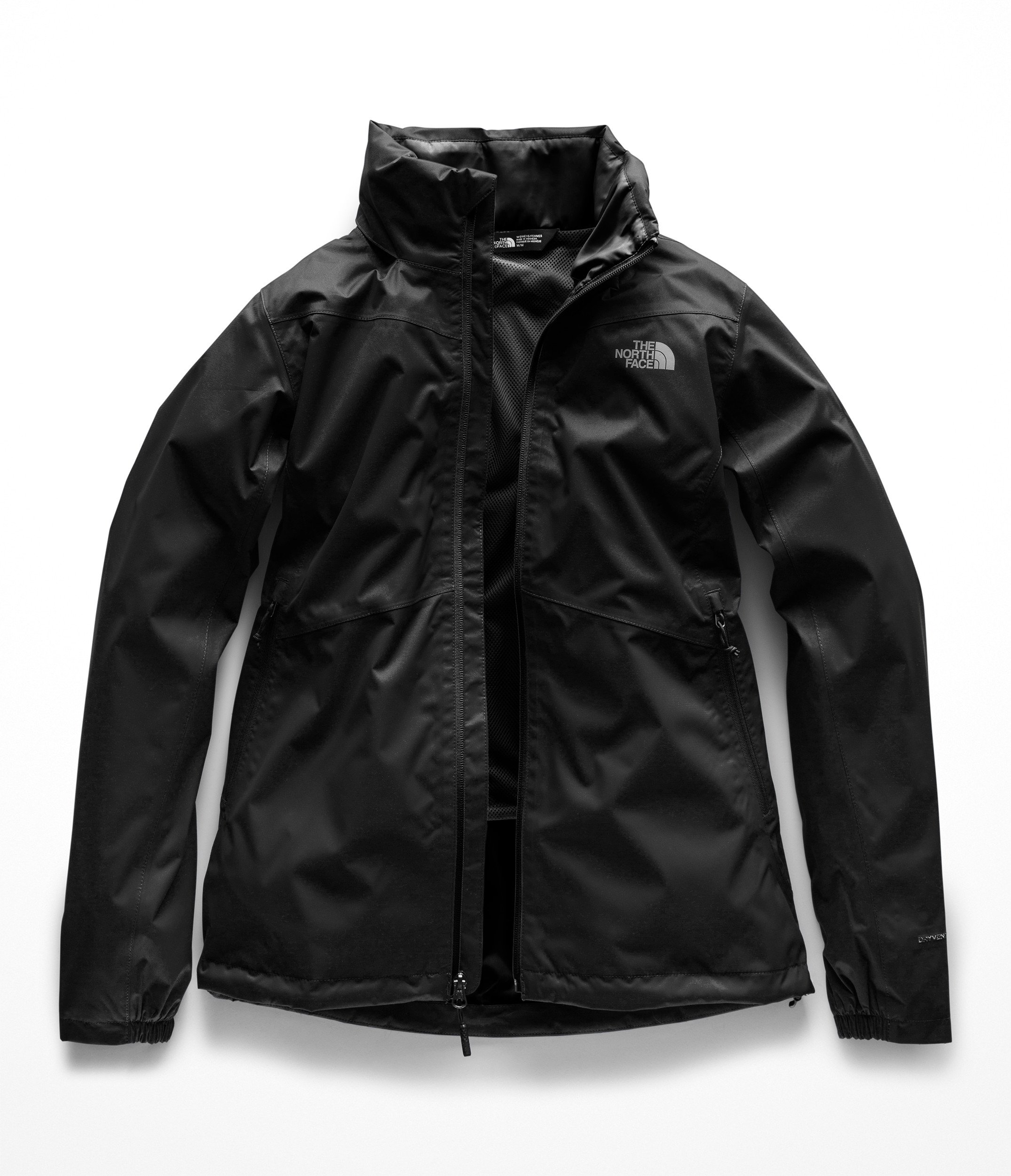 The North Face Women Resolve Plus Jacket - TNF Black - XL