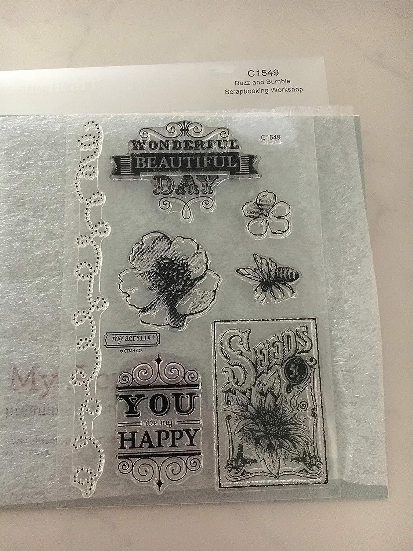 NEW Close To My Heart No Peeking Acrylix Stamp Set