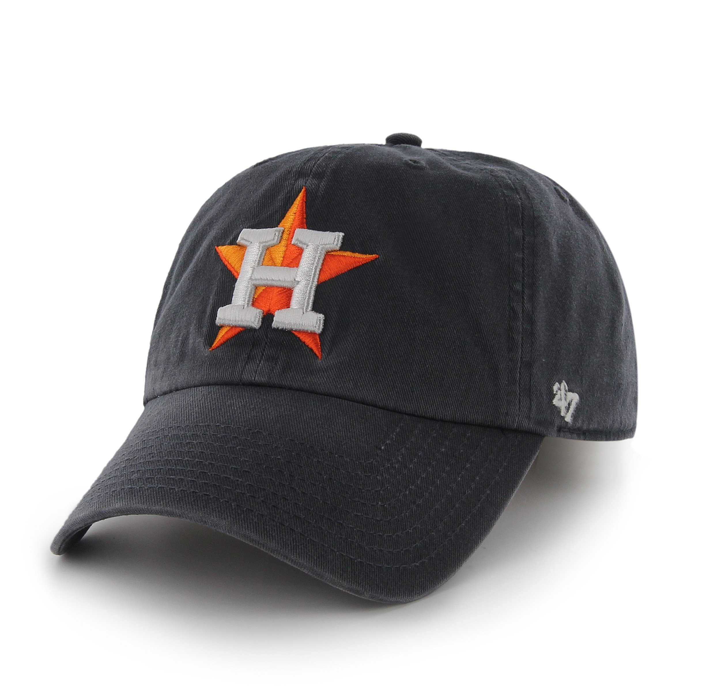 MLB Houston Astros '47 Brand Clean Up Adjustable Hat, One Size