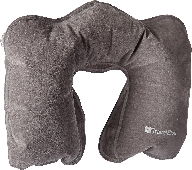 Nackenhörnchen Nackenkissen aufblasbar abnehmbarer Bezug GO TRAVEL Neck Pillow