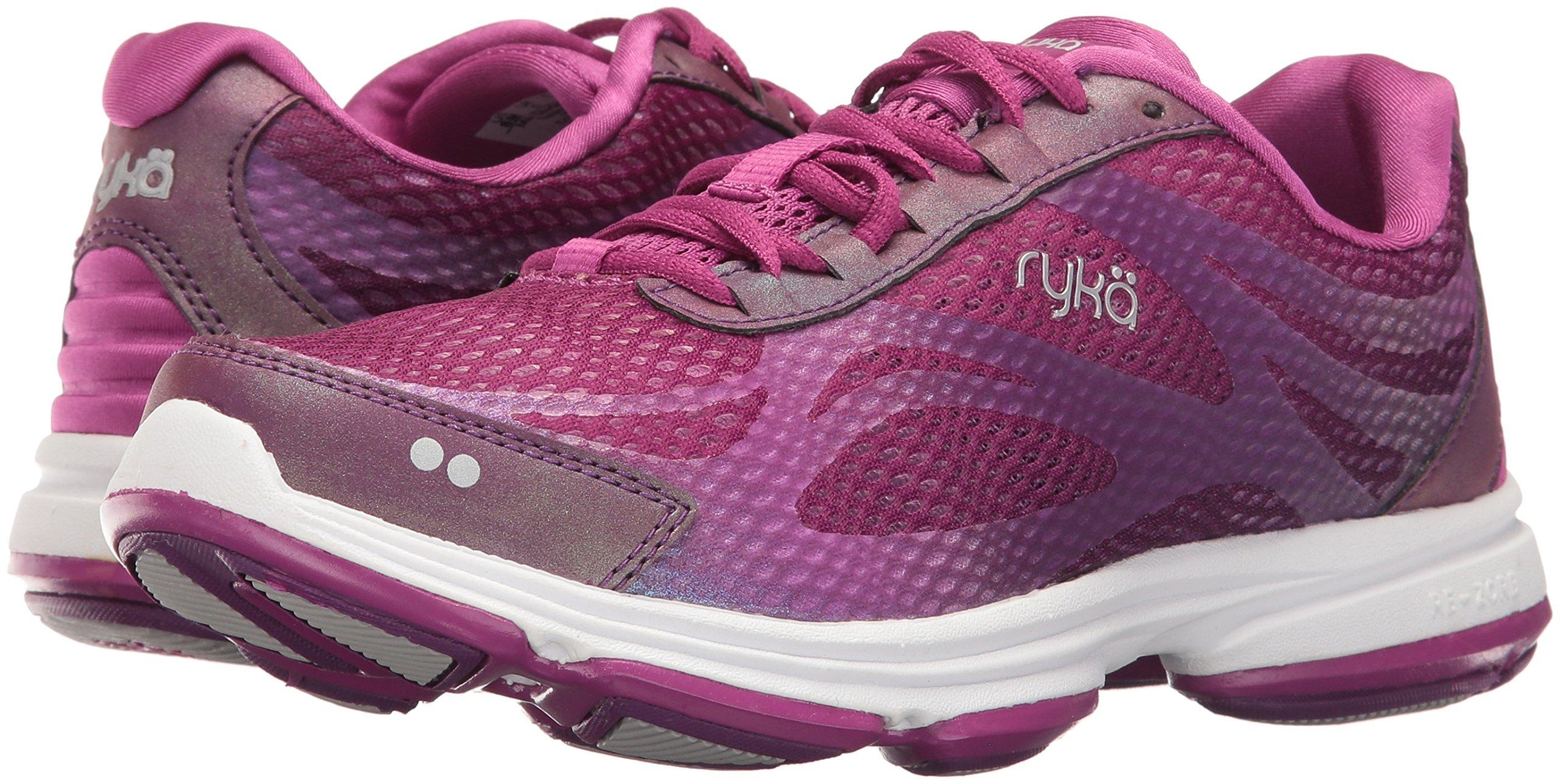 Ryka Women's Devotion Plus 2 Cross Trainer,Grape Juice/Vivid Berry/Chrome Silver by Ryka (Image #6)