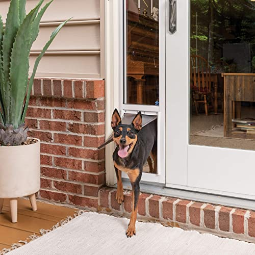 PetSafe Sliding Glass Cat and Dog Door Insert – Great for Apartment and Patio Slider Doors – Small, Medium, Large Pets