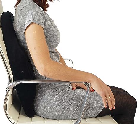 Cuscino Anatomico Per Sedia Ufficio.Mendler Cuscino Schienale Lombare Per Poltrone Da Ufficio 7 5x43x50cm