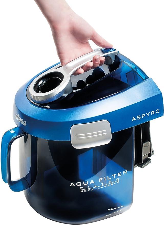 Ufesa AP8120 - Aspirador con filtro de agua, 1600 W, filtro HEPA ...