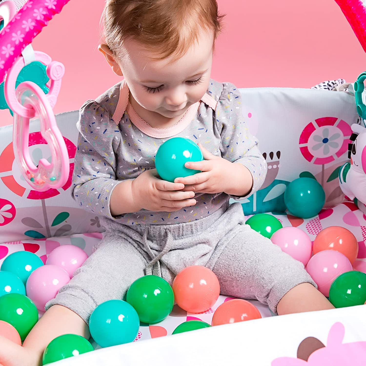 Your Way Ball Bright Starts 5-in-1 Play Activity Gym