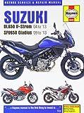 Suzuki DL650 V-Strom & SFV650 Gladius 2004 - 2013 (Haynes Service and Repair Manuals)