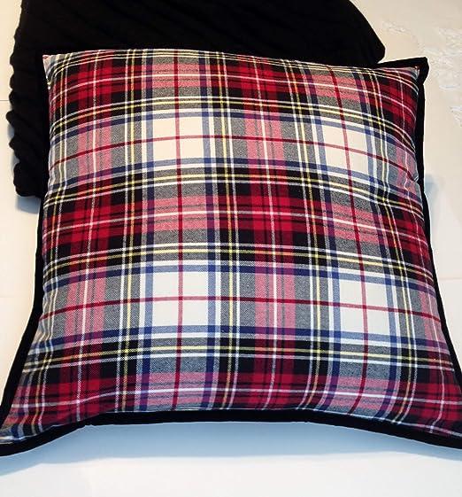 Amazon.com: Lauren by Ralph Lauren Throw Pillow Red, Black,White