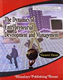 Dynamics of Entrepreneurial Development and Management