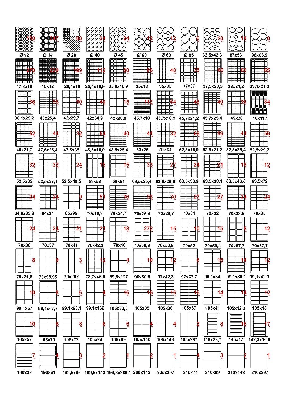 bedruckbar gr/ün 480 Aufkleber 70x36mm Kipex KP102008 Universal Etiketten selbstklebend, 20 Blatt DIN A4 Papier matt