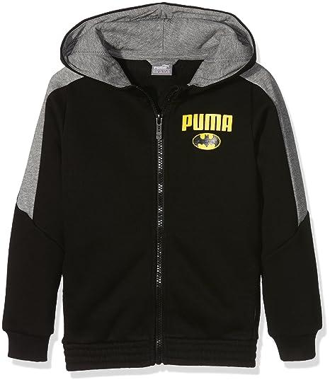 Puma Batman Chaqueta con Capucha para Joven, Color Puma Black, tamaño 110