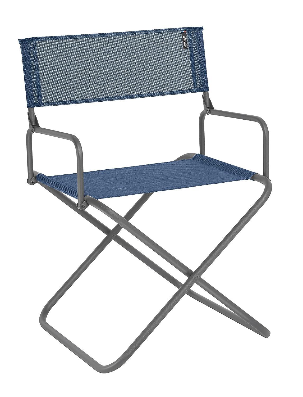Lafuma Großer, kompakter Klappstuhl für unterwegs, Mit Armlehne, FGX XL, Batyline, blau