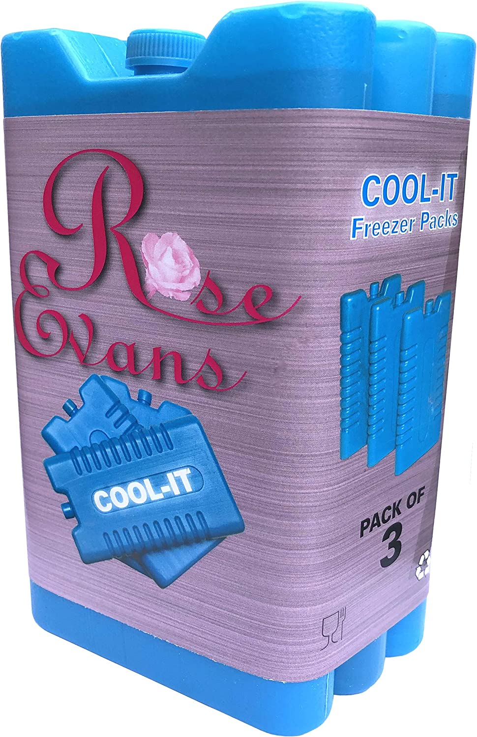 New Freezer Blocks - Suitable For Cooler Boxes & Bags - Cools & Keeps Food Fresh - In Packs of 3/6 by Rose Evans: Amazon.es: Deportes y aire libre