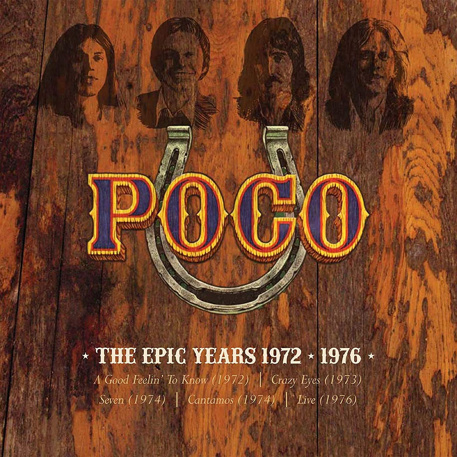 The Epic Years 1972-1976 (5CD Clamshell Boxset)