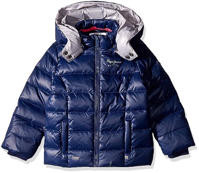 Pepe Jeans OLVIDO, Abrigo para Niñas, Azul, años (Talla Fabricante: 12
