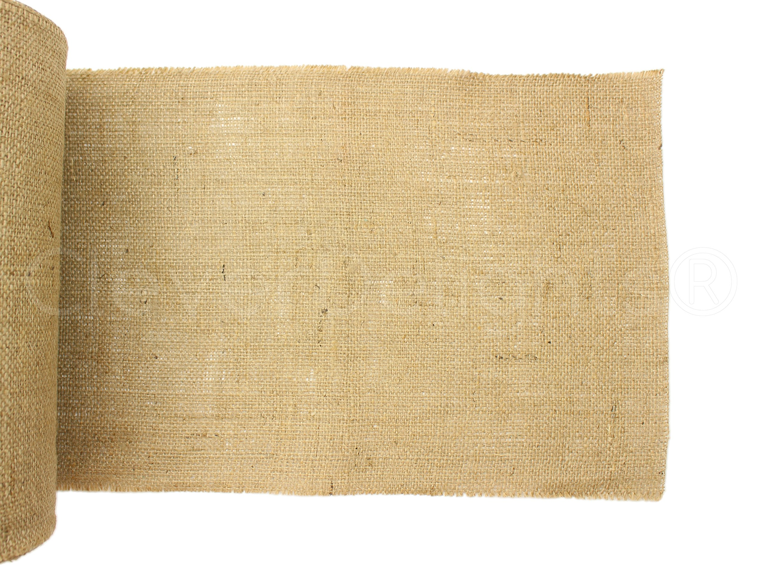 CleverDelights 12'' Natural Burlap - Industrial Grade - 50 Yard Roll - Tight-Weave Jute Burlap Fabric by CleverDelights (Image #2)