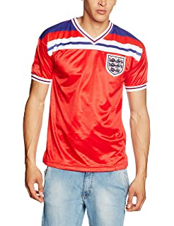 defe054e5 England Rugby Score Draw ENGLAND 1982 World Cup Finals Shirt  Amazon ...