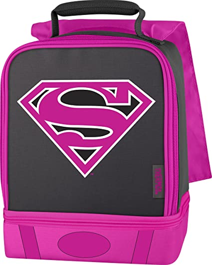 Amazon.com  Thermos Dual Lunch Kit, Supergirl  Kitchen   Dining a916eac936