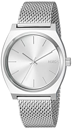 Nixon Women s Time Teller Milanese Japanese-Quartz Watch with  Stainless-Steel Strap 04cde1cee