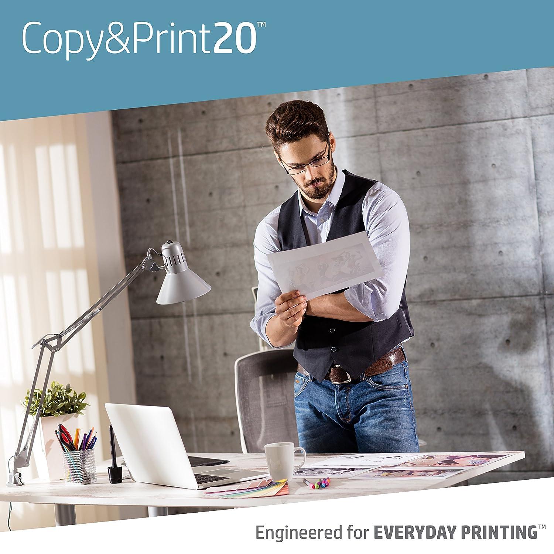 20lb 200010C 8.5 x 11 HP Printer Paper 92 Bright 6 Pack // 2,400 Sheets Letter Copy and Print Copy Paper