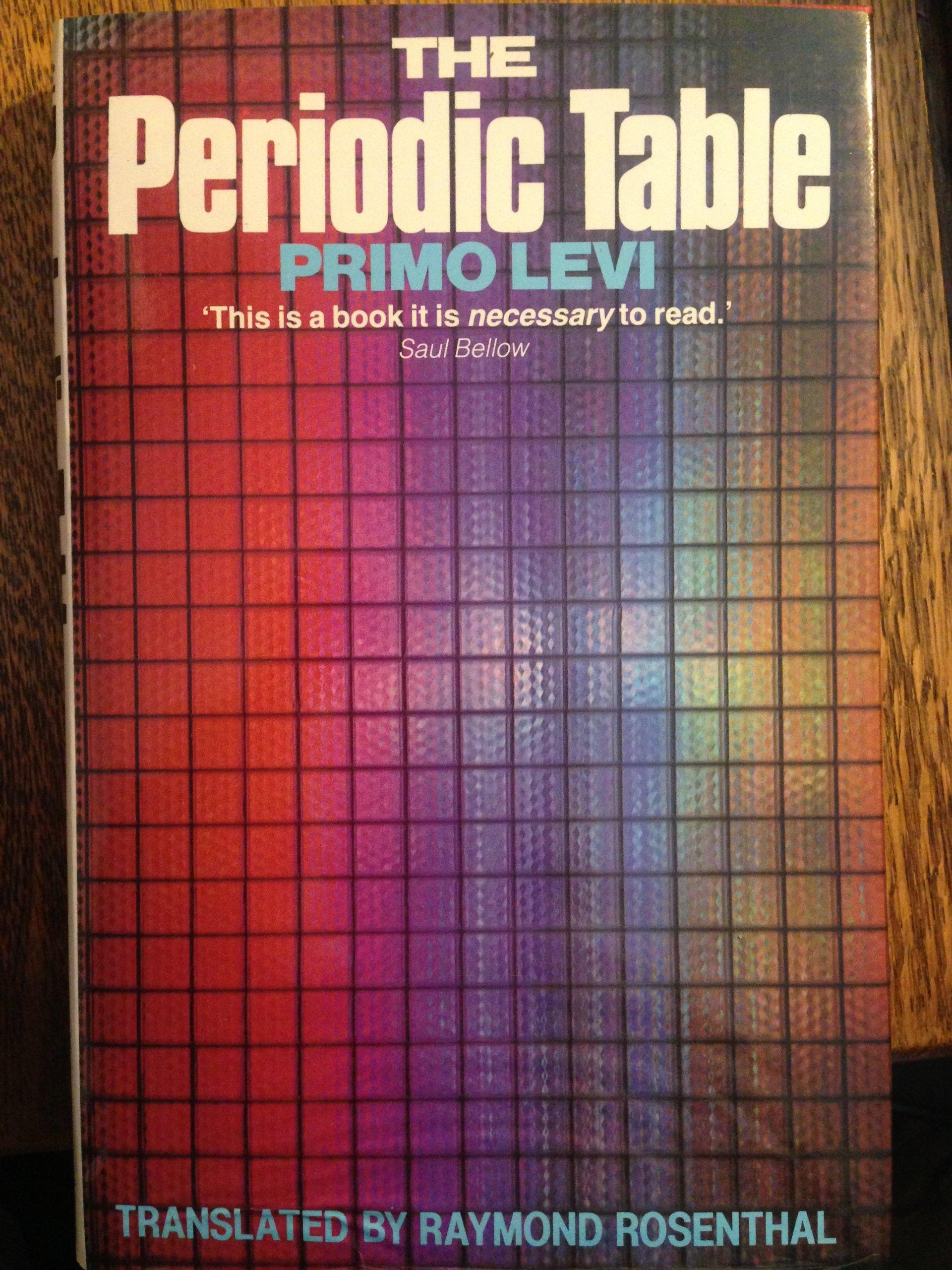 The periodic table amazon primo levi r rosenthal the periodic table amazon primo levi r rosenthal 9780718126360 books gamestrikefo Choice Image
