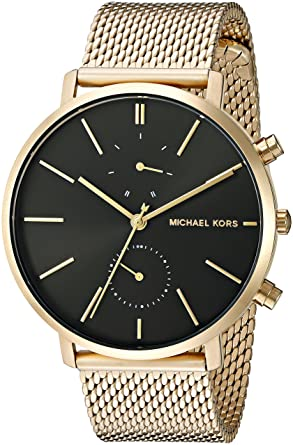 3c3f470c7bcd Amazon.com  Michael Kors Men s Jaryn Gold-Tone Watch MK8503  Michael ...