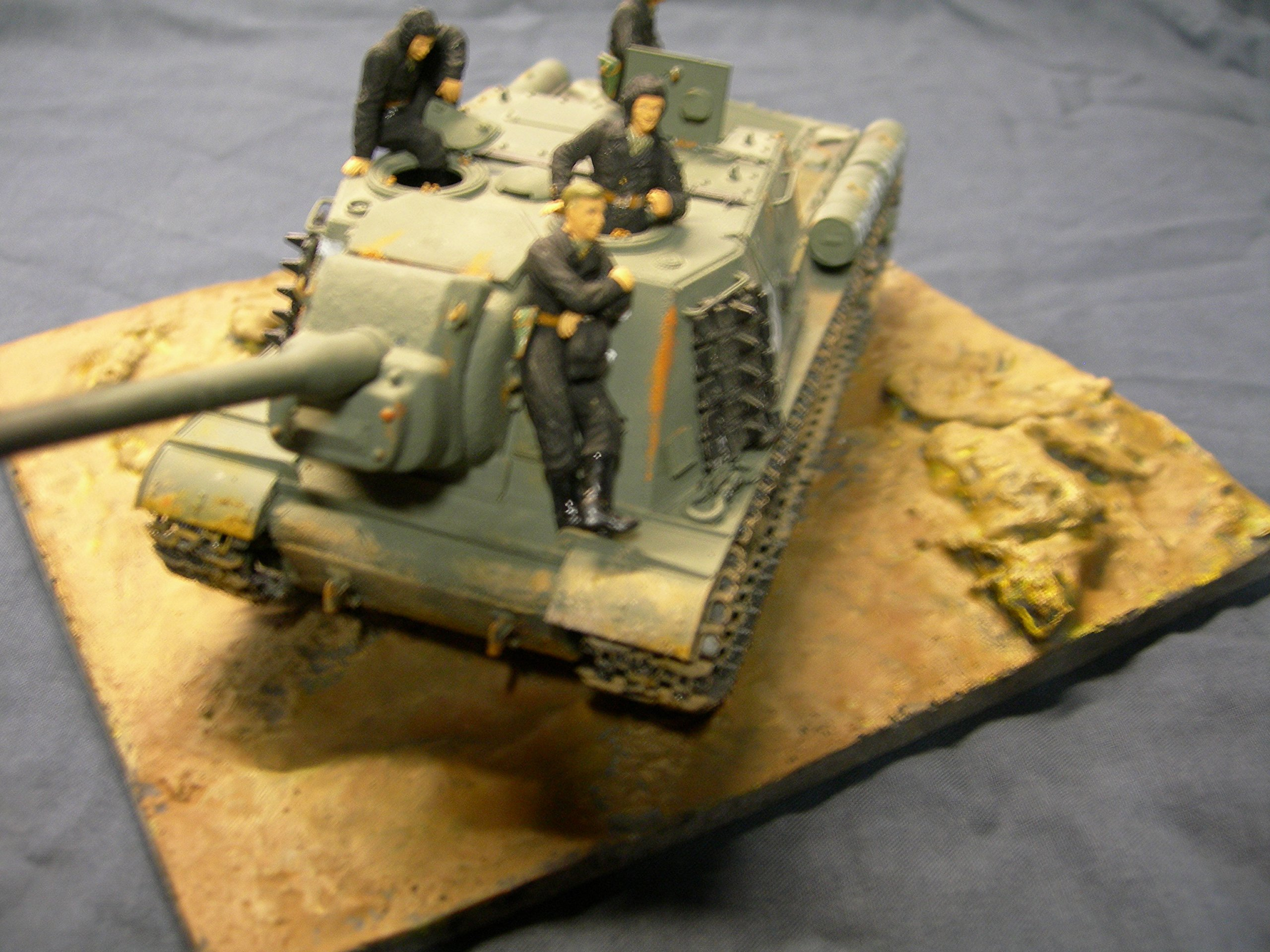 1/35 Scale ~ Country Diorama Base - size 200mm x 155mm by Fields of Glory (Image #2)