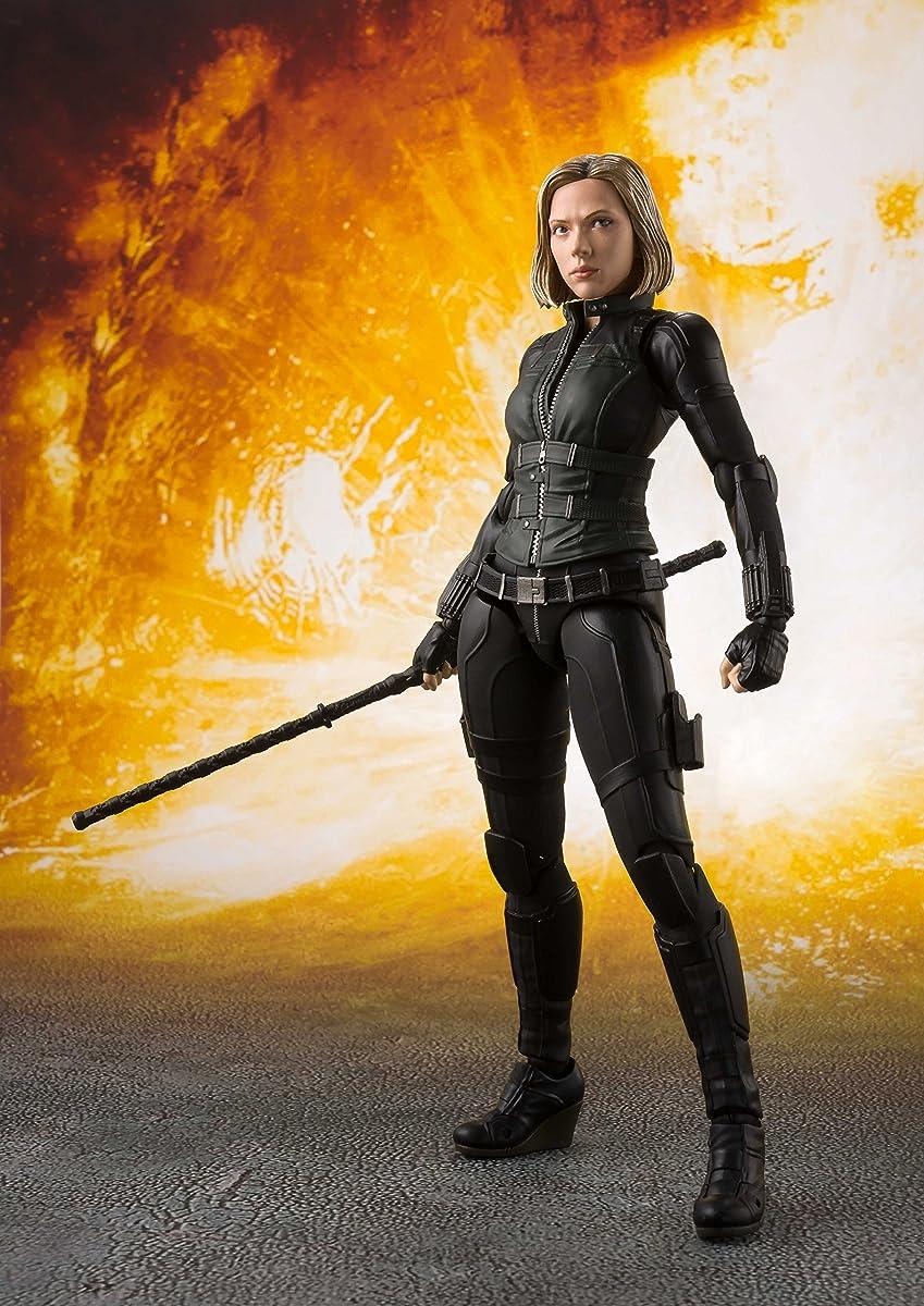 "Tamashii Nations S.H. Figuarts Black Widow & Tamashii Effect Explosion ""Avengers: Infinity War"""