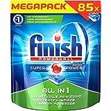 Finish All in 1 Spülmaschinentabs, Megapack, 1er Pack (1 x 85 Tabs)