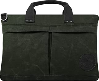 product image for Duluth Pack City Briefcase (Waxed Olive Drab)