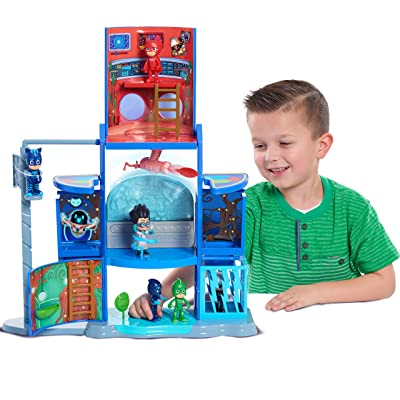 PJ Masks Mission Control HQ Playset: Toys & Games