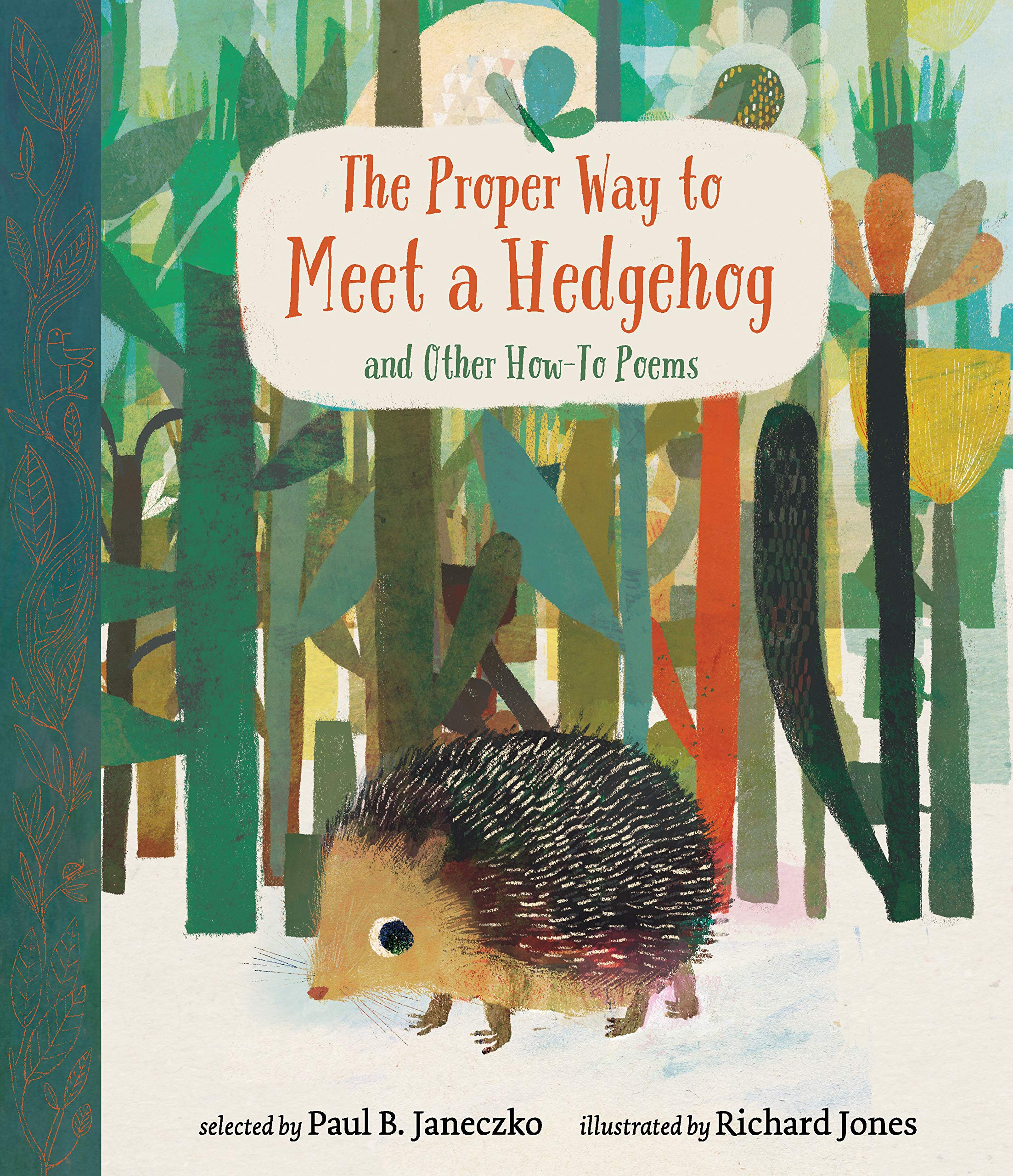 Image result for The Proper Way To Meet a Hedgehog by Paul Janeczko