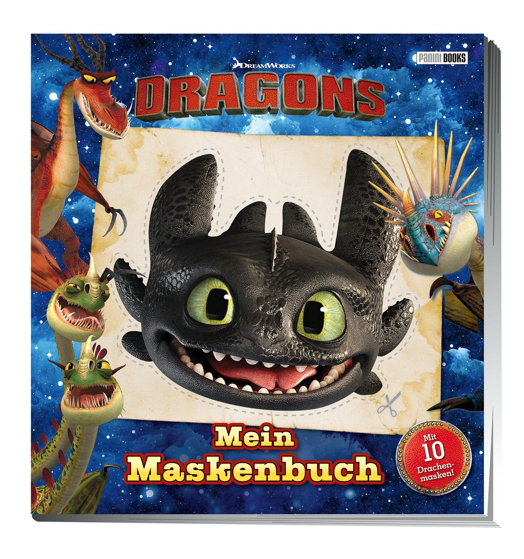Dragons  Mein Maskenbuch  Mit 10 Drachenmasken
