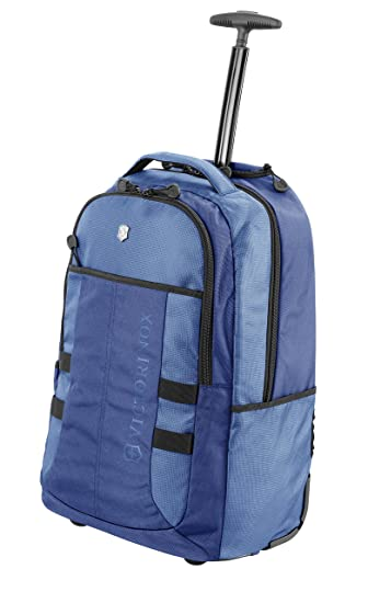 Amazon.com | Victorinox Vx Sport Wheeled Cadet Backpack Blue One Size | Backpacks