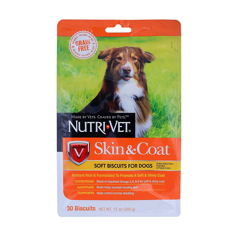 Nutri-Vet Grain Free Skin and Coat Soft Biscuits