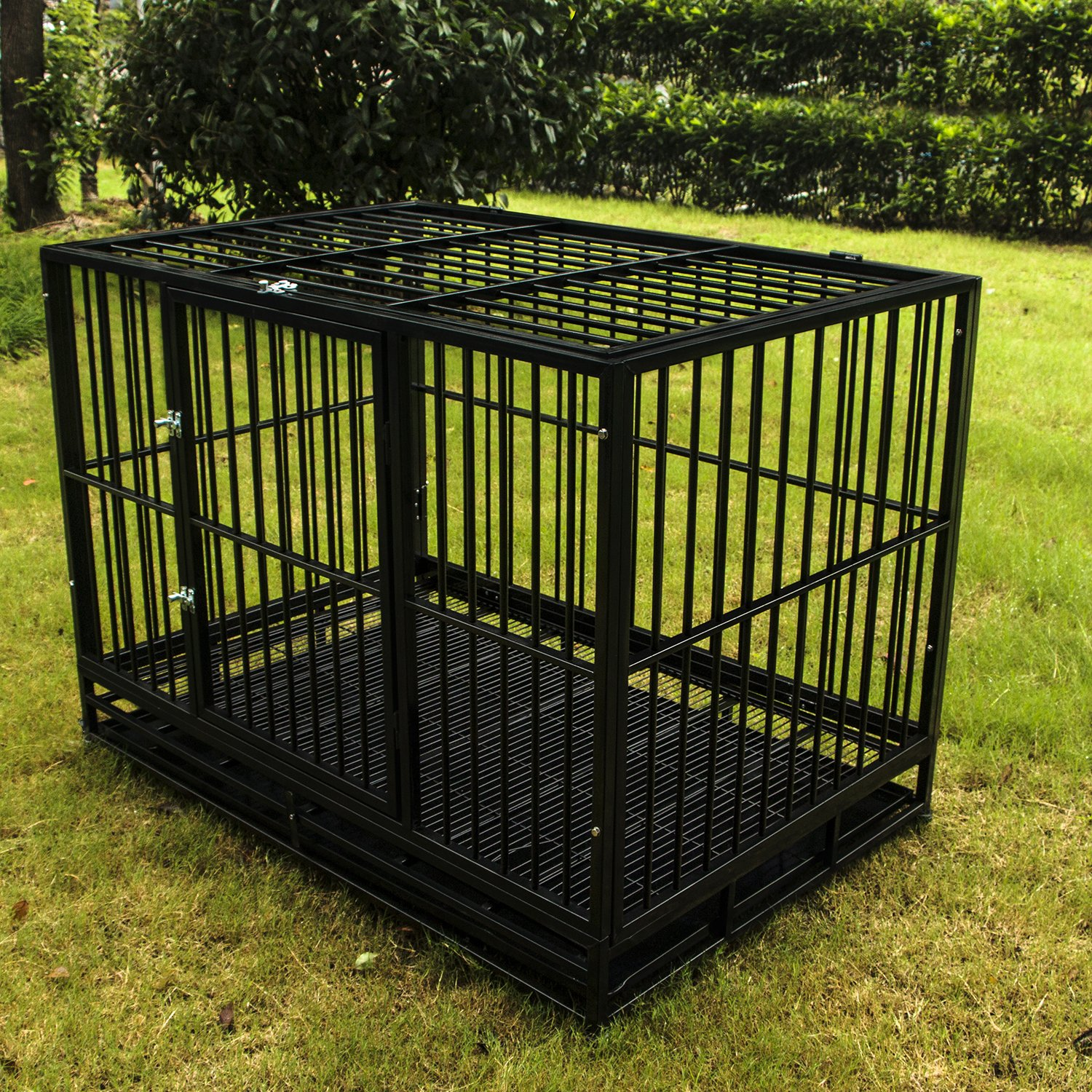 Dog cages beautiful dog crate metal cage sdm1011 new for Design indoor dog crate